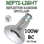 Clear Reflector Basking Bulbs- BC AND ES